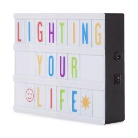 Caja de Luz LED Cinematográfica tamaño A5