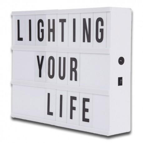 Caja de Luz LED Cinematográfica tamaño A4