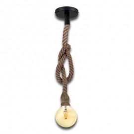 Lampara Colgante Vintage Cuerda KAMBA
