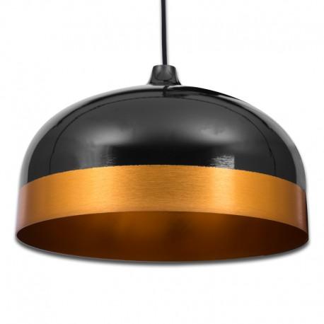 Lámpara Colgante Vintage Deel Negro