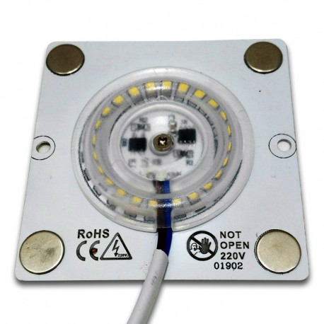 Módulo LED 10W 3000K AC220V regulable