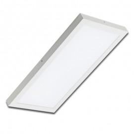 Plafón superficie LED 36W rectangular blanco