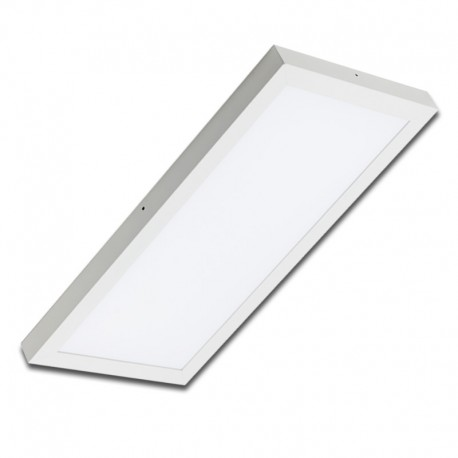 Plafón superficie LED 24W rectangular blanco