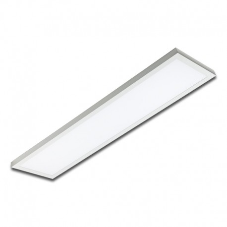 Plafón superficie LED 40W rectangular blanco