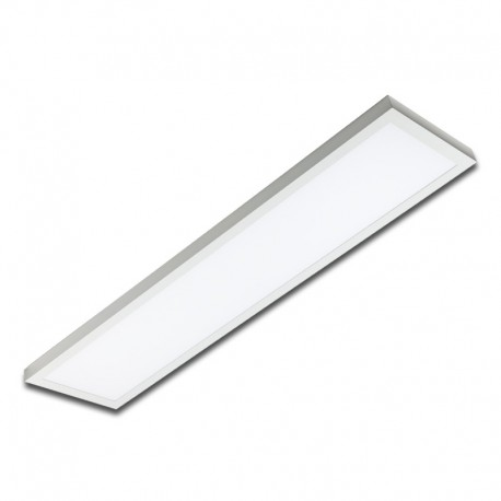 Plafón superficie LED 50W rectangular blanco