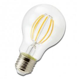 Bombilla Filamento LED E27 6W 3000K STANDARD A60