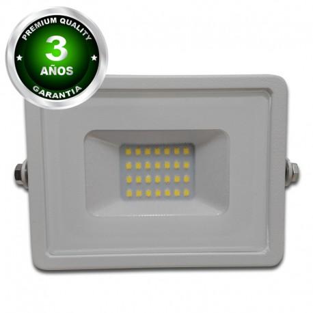Proyector LED exterior 10W IP65 ECO-SLIM BLANCO