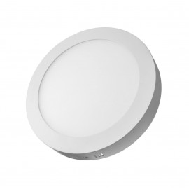 Plafón superficie LED 48W redondo blanco 600mm