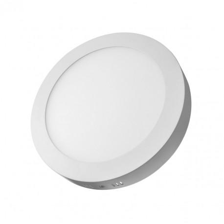 Plafón superficie LED 24W redondo blanco