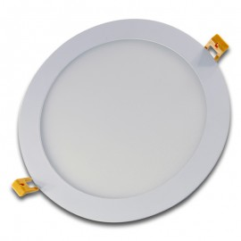 Panel LED 20W redondo blanco 240mm exterior
