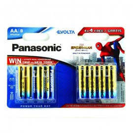 Pilas Panasonic EVOLTA AA LR6 4+4 UDS