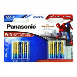 Pilas Panasonic EVOLTA AAA LR03 4+4 UDS