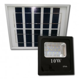 Proyector LED Solar 10W 6000K IP66