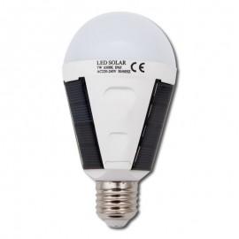 Bombilla LED Solar E27 7W 6000K