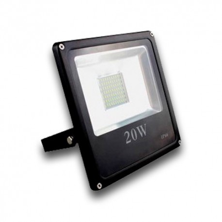 Proyector LED exterior 20W 6000K IP66