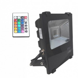 Proyector LED exterior 10W RGB IP65
