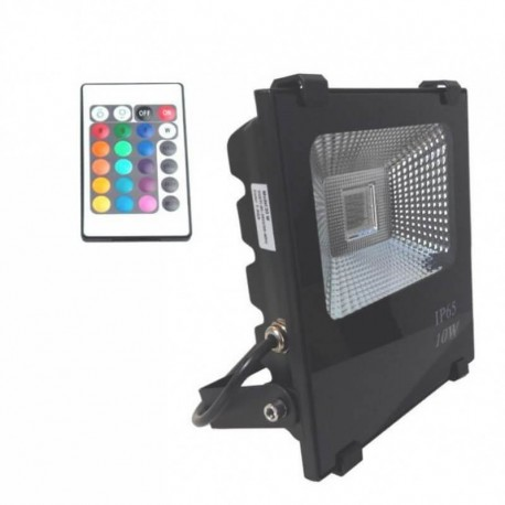 Proyector LED exterior 10W RGB IP66