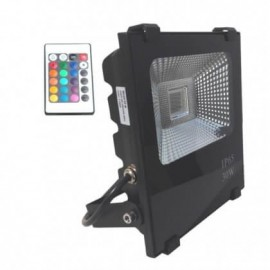 Proyector LED exterior 30W RGB IP65