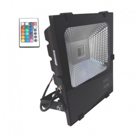 Proyector LED exterior 50W RGB IP65