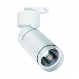 Proyector LED 30W carril monofásico 24º/60º Blanco