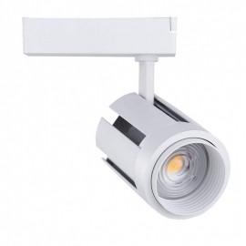 Proyector LED 40W carril monofásico Ángulo Regulable Blanco