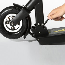 Patinete Eléctrico Joyor F5S detalle sistema plegado