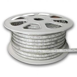 Tira LED SMD 5050 AC220V RGB metro