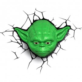 Lámpara LED 3D YODA
