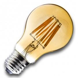 Bombilla Filamento LED E27 8W 2400K A60 GOLDEN