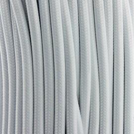 Cable Textil Vintage Blanco