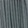Cable Textil Vintage Negro/Blanco