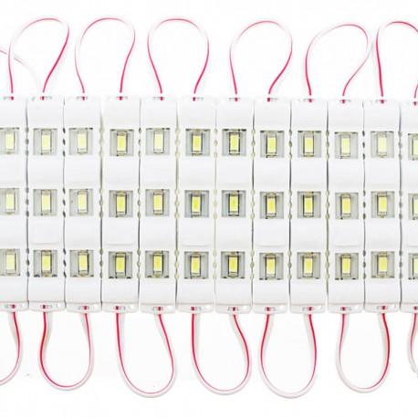 Cadena 20 Módulos LED SMD5730 0,75W 120º