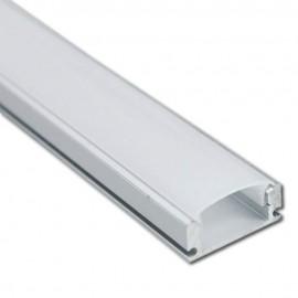 Perfil Aluminio para Tira LED -U- 2 metros