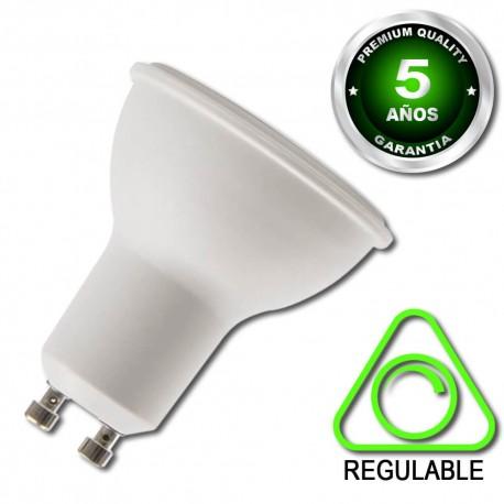 Bombilla GU10 LED 6W Regulable Garantía 5 Años