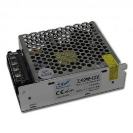 Transformador AC220V-DC12V 5A (60W) Profesional